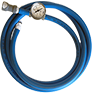 Vacuum Lock Hose with Pressure Gauge